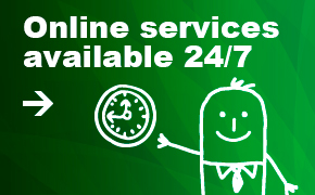 Online services available 24/7