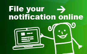 File your notification online