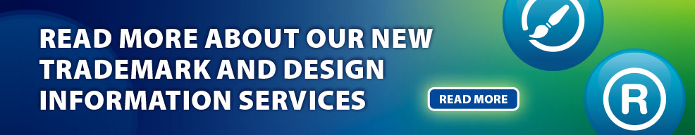 Go to our new trademark and design information services